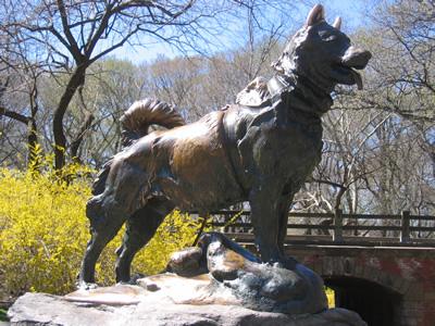 Balto's statue